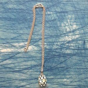 Vintage 1960s rhinestone necklace